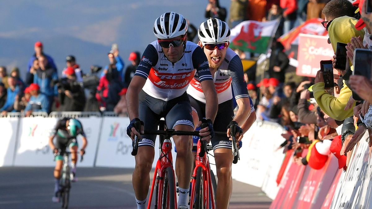 Vincenzo Nibali and Bauke Mollema