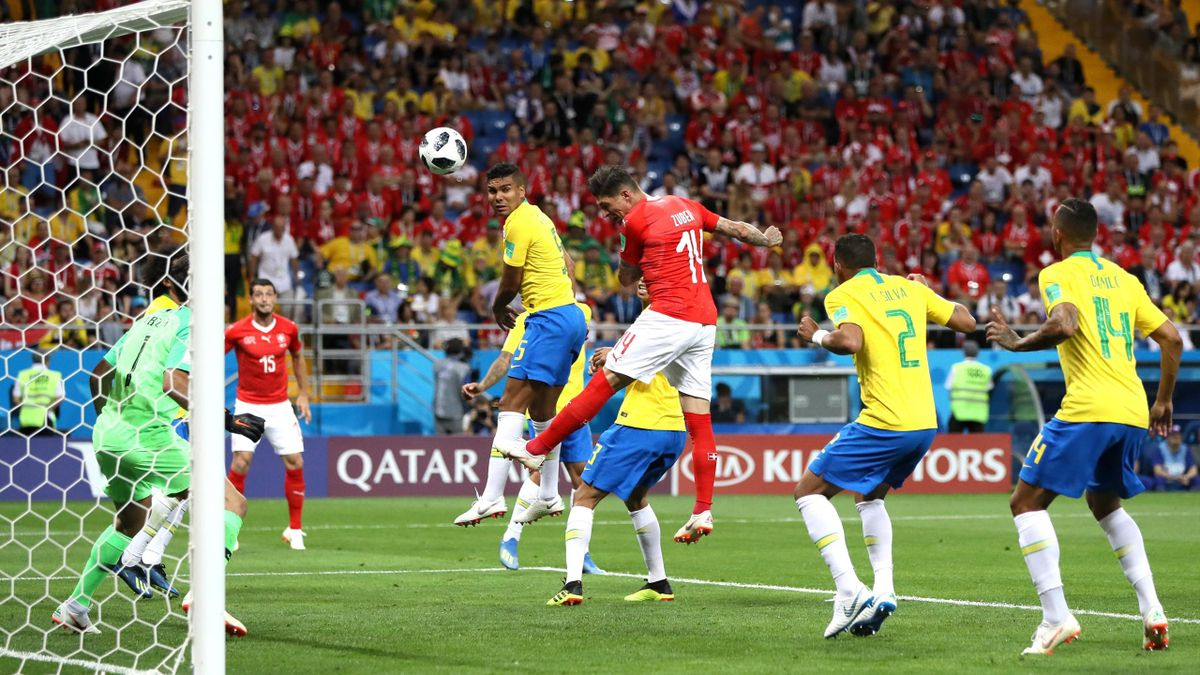 Steven Zuber trifft gegen Brasilien