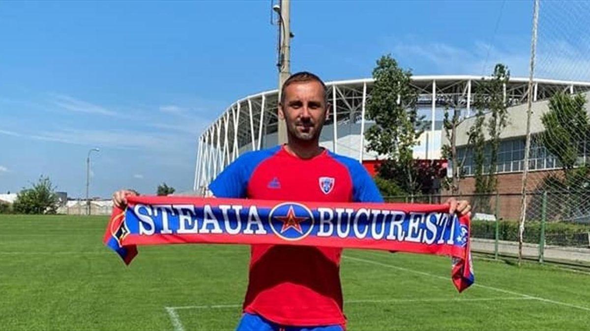 Gabriel Boștină a fost prezentat oficial la CSA Steaua