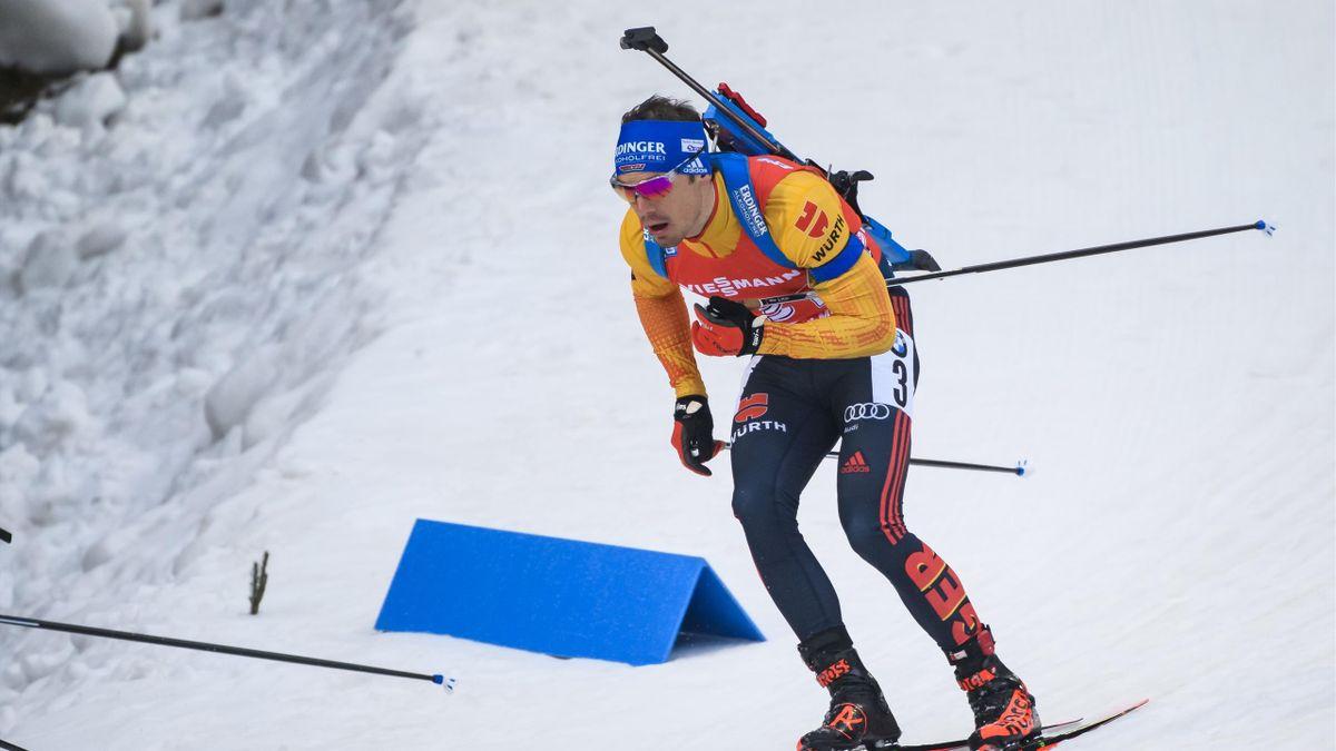 Simon Schempp muss beim Weltcup-Auftakt in Kontiolahti zunächst zuschauen