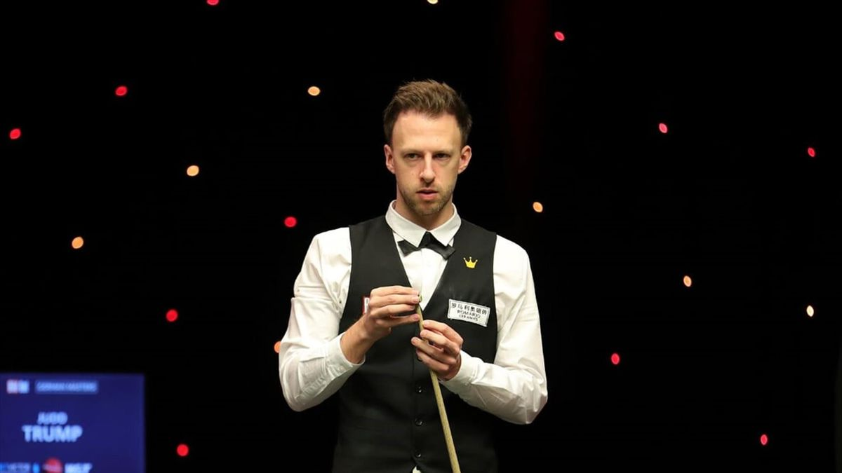 German Masters 2021 Judd Trump Opens Up Big Lead Over Jack Lisowski After First Session Of Final Eurosport