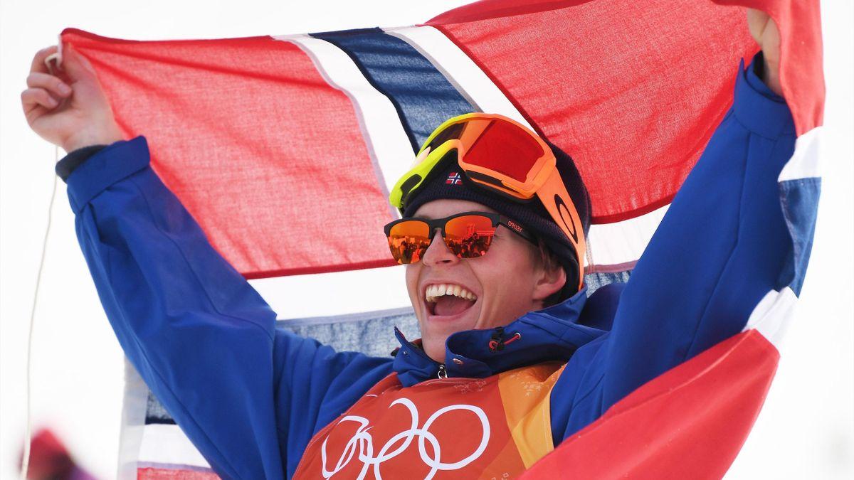 Ski-Freestyle bei Olympia 2018: Öystein Braaten (Norwegen) gewinnt Gold im Slopestyle