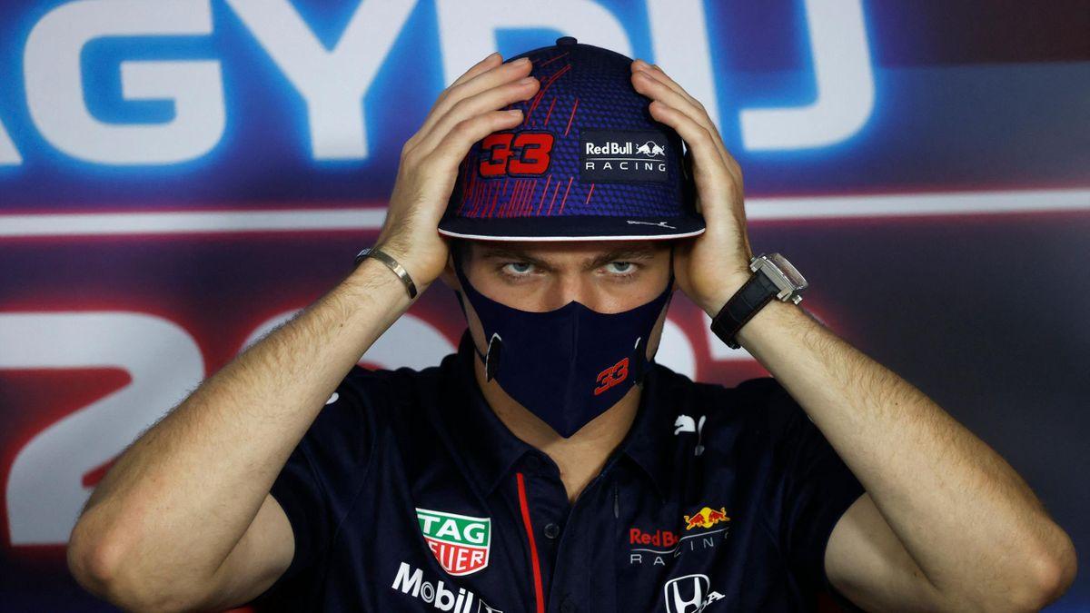 Max Verstappen lors du Grand Prix de Hongrie