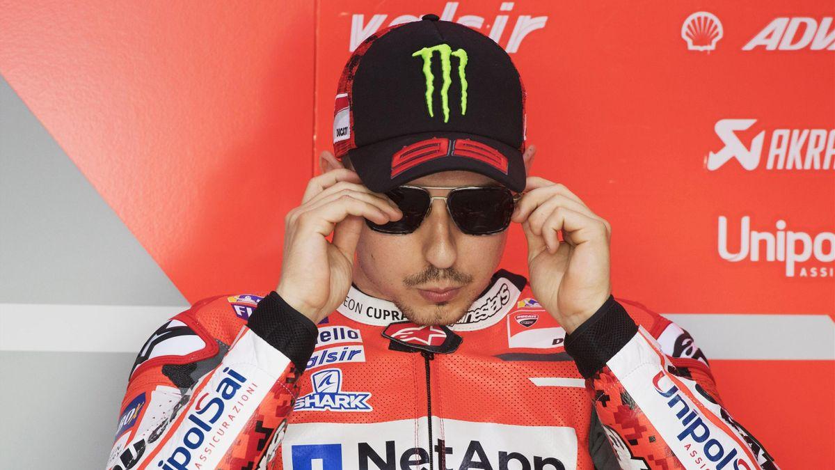 Jorge Lorenzo (Ducati Team) au Grand Prix du Qatar 2018