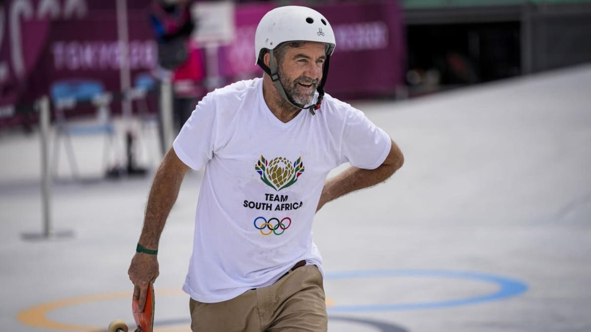 Dallas Oberholzer, skater que representa a Sudáfrica