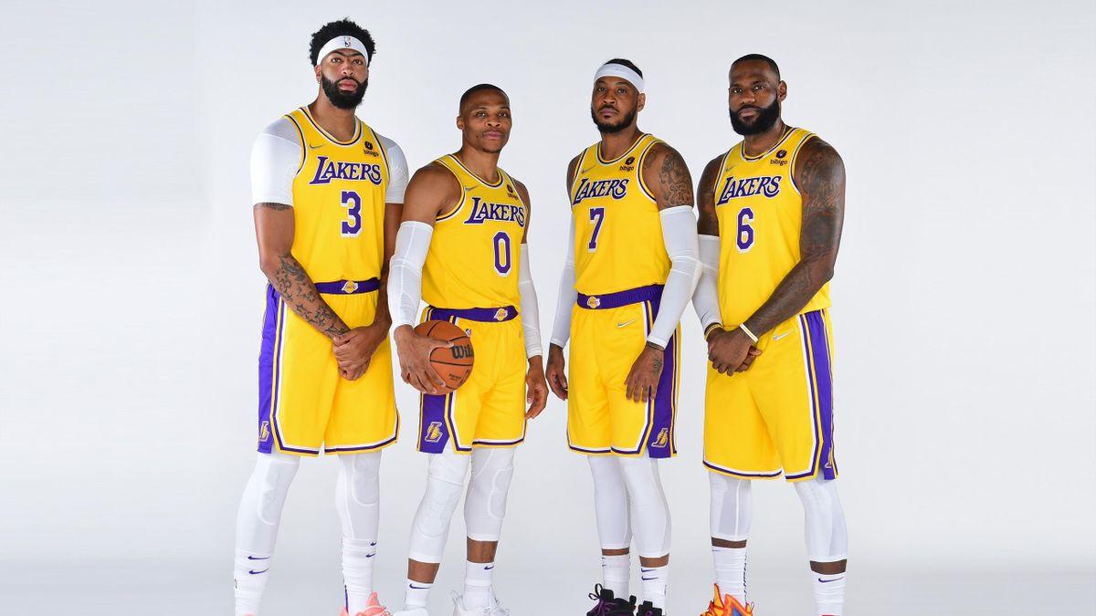 Anthony Davis, Russell Westbrook, Carmelo Anthony et LeBron James sont très attendus avec les Los Angeles Lakers en NBA.