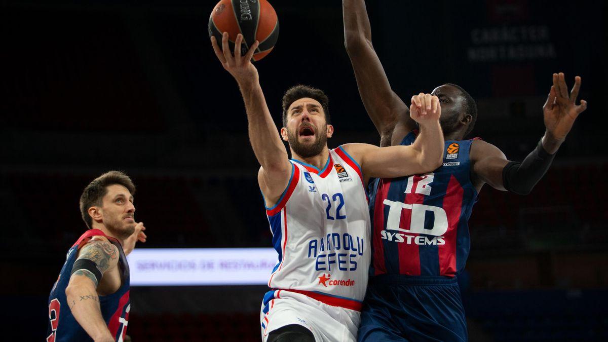 Vasilije Micic, Baskonia-Anadolu Efes, Euroleague 2020-21
