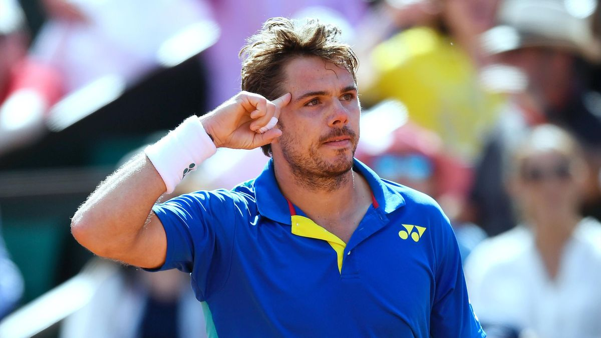 Stan Wawrinka bei den French Open 2017