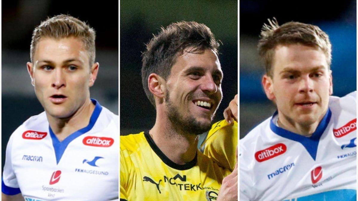 Tronstad, Pedersen, Våge Nilsen