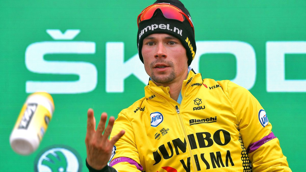 Primoz Roglic Signs Four Year Contract Extension With Cycling S Rising Superpower Jumbo Visma Eurosport