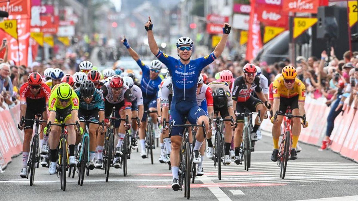 Fabio Jakobsen vince la volata di Quaregnon su Selig e Menten - Giro di Vallonia 2021