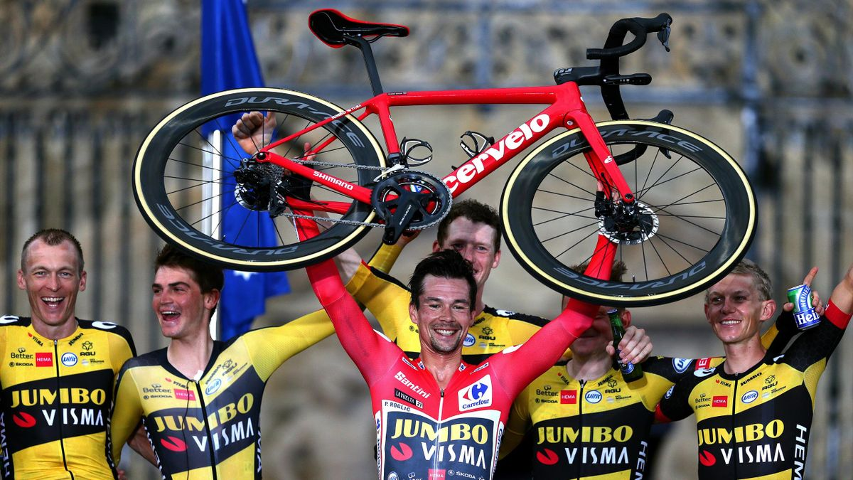 Primoz Roglic vainqueur de la Vuelta 2021