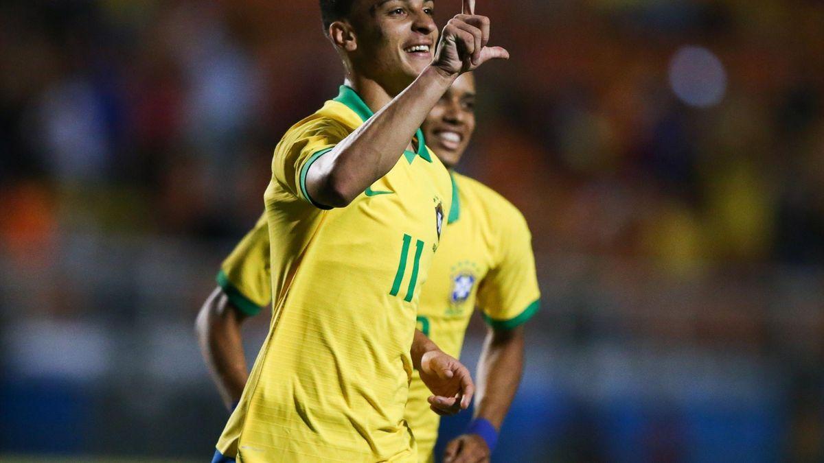 Antony spielt in Brasiliens U23-Nationalmannschaft.
