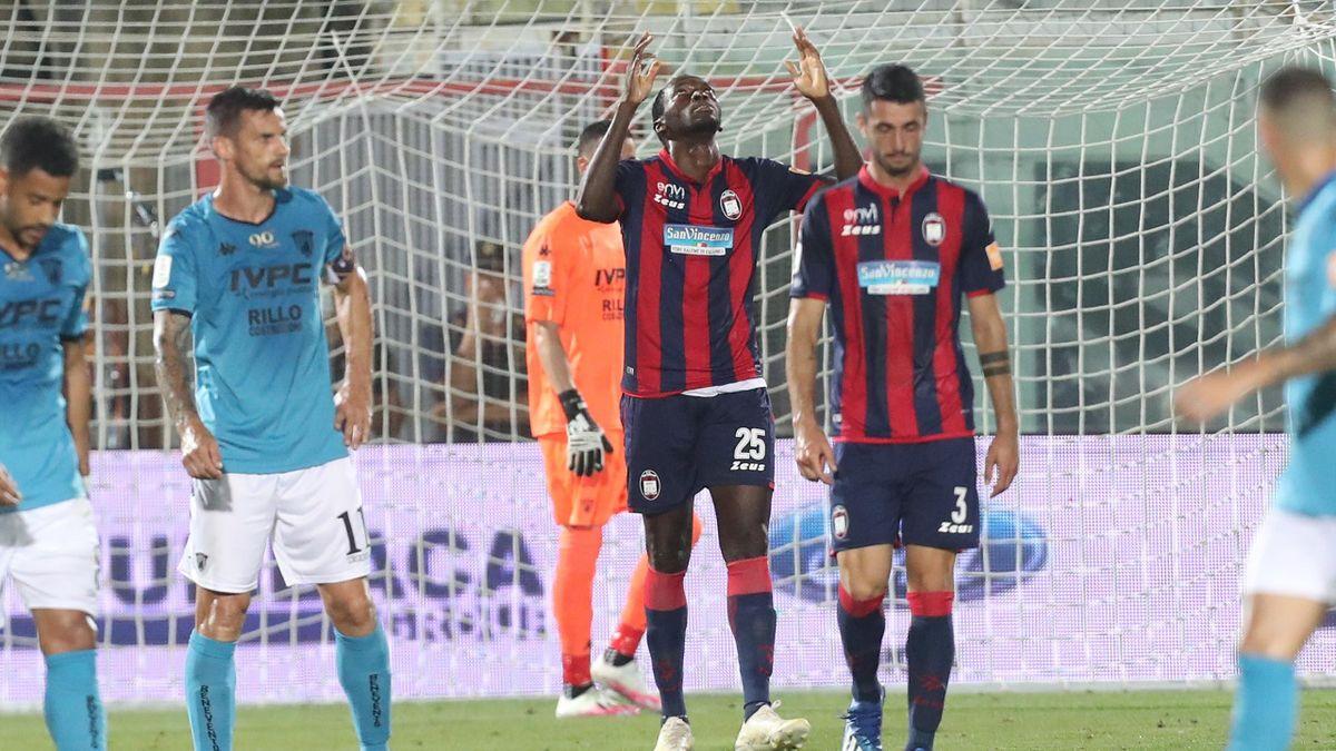 Crotone-Benevento, Serie B 2019-2020: Nwankwo Simy (Crotone) (Getty Images)