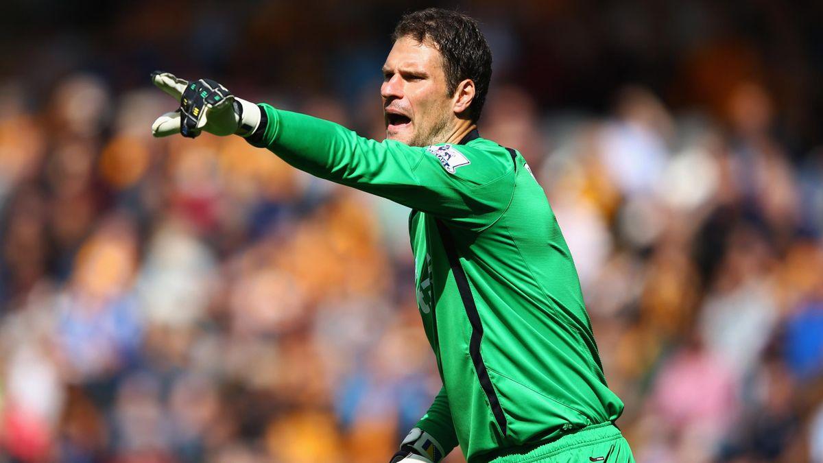 Stoke-Keeper Asmir Begovic