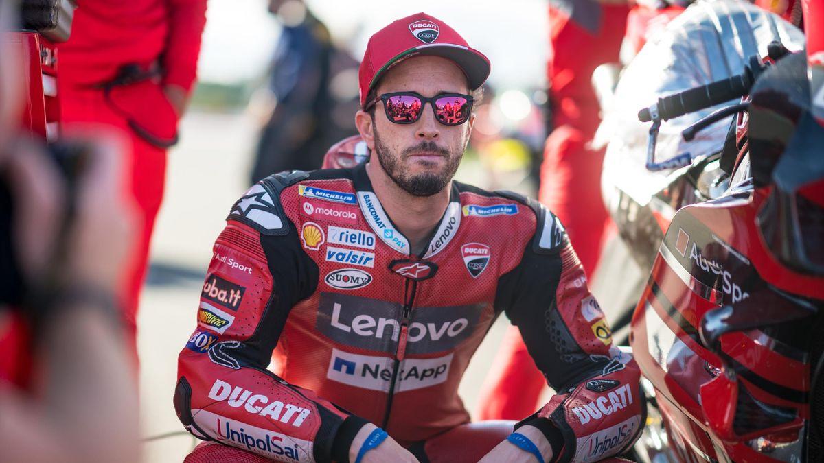 Andrea Dovizioso (Ducati) lors du Grand Prix de Valence, le 15 novembre 2020