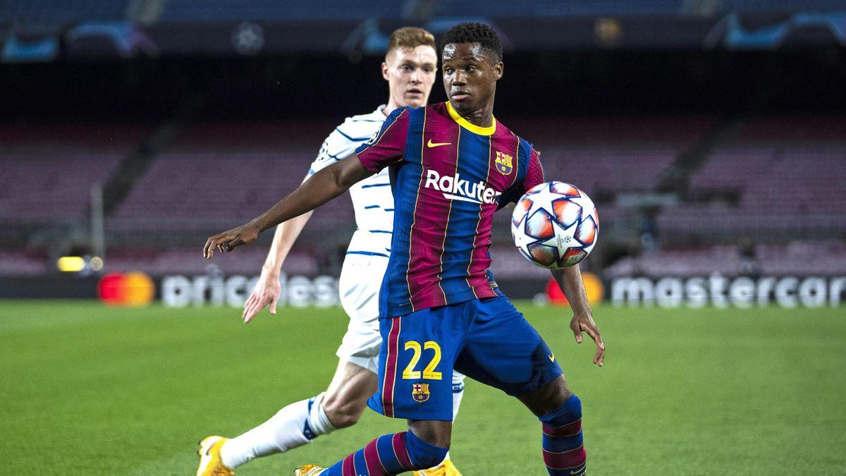Ansu Fati fehlt dem FC Barcelona wohl länger