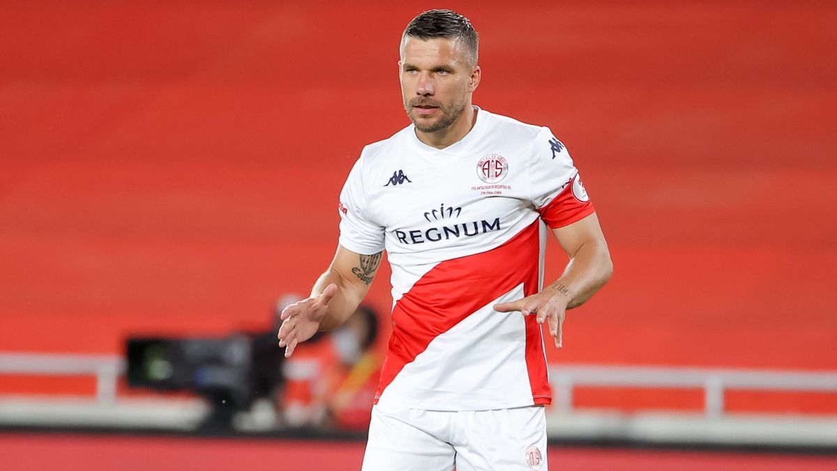 Lukas Podolski verlässt Antalyaspor im Unfrieden