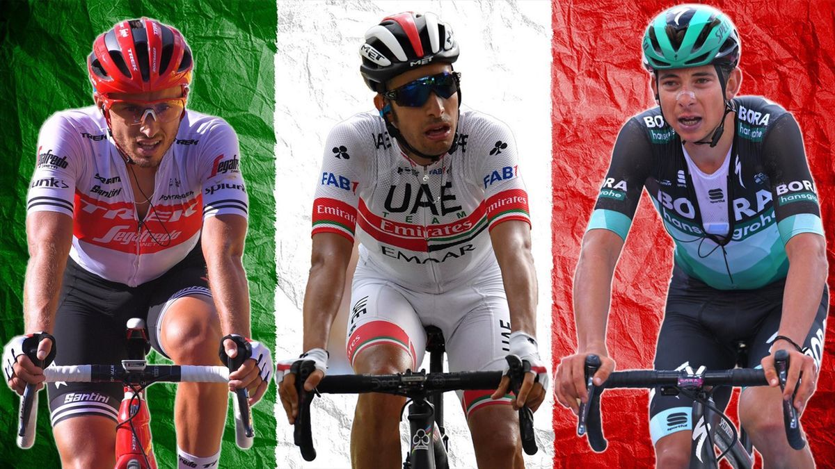 Gianluca Brambilla, Fabio Aru, Davide Formolo, Vuelta 2019