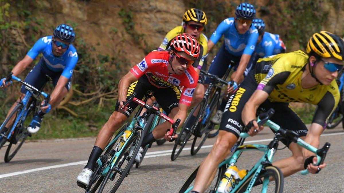 Primoz Roglic, în Vuelta 2019