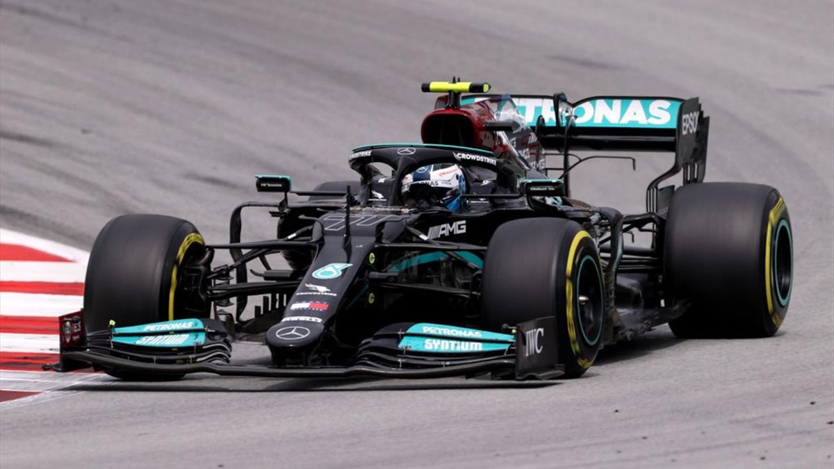 Valtteri Bottas durante il GP di Spagna valido per il Mondiale 2021 di Formula 1