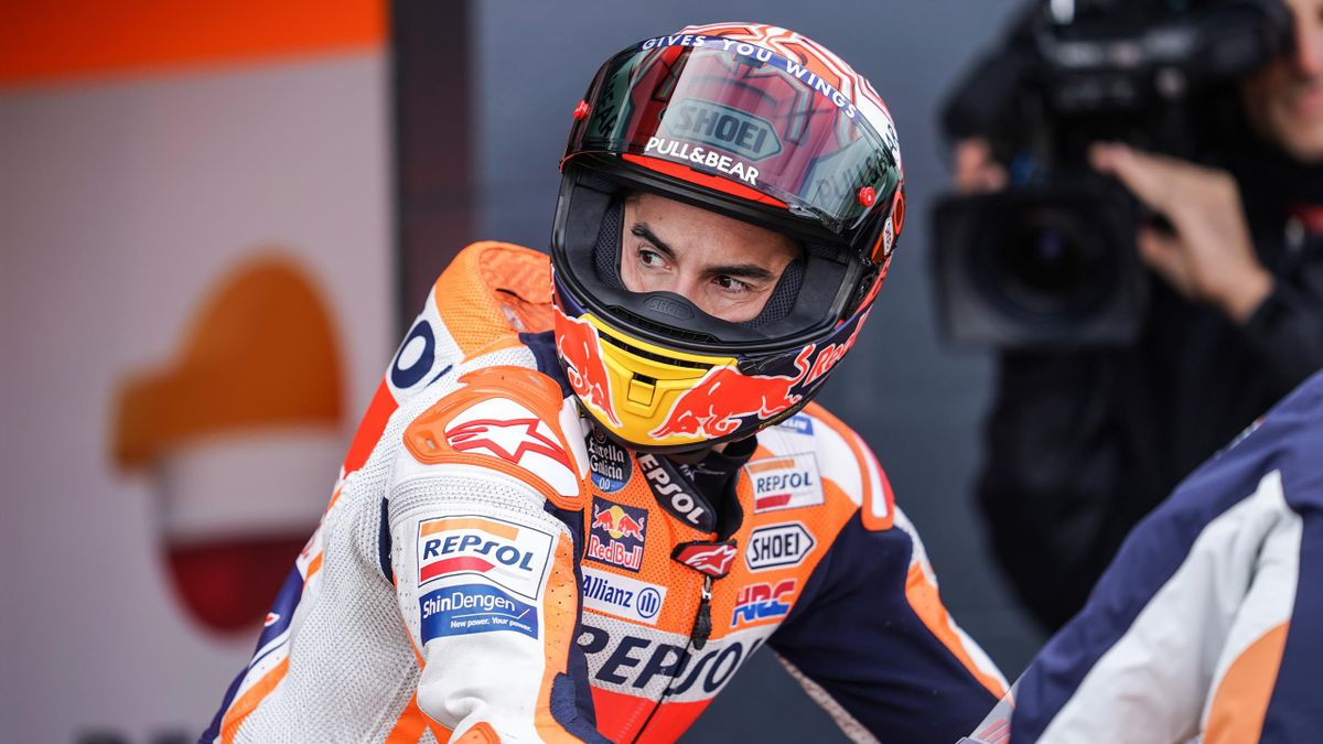 Marc Marquez (Honda HRC) au Grand Prix d'Australie 2019