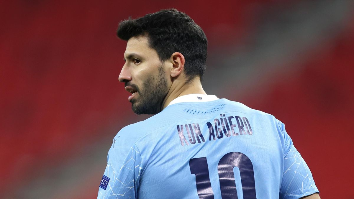 Sergio Aguero is leaving Manchester City in the summer