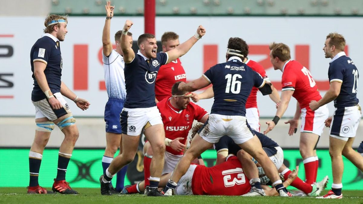 Scotland beat Wales away for the first time in 18 years