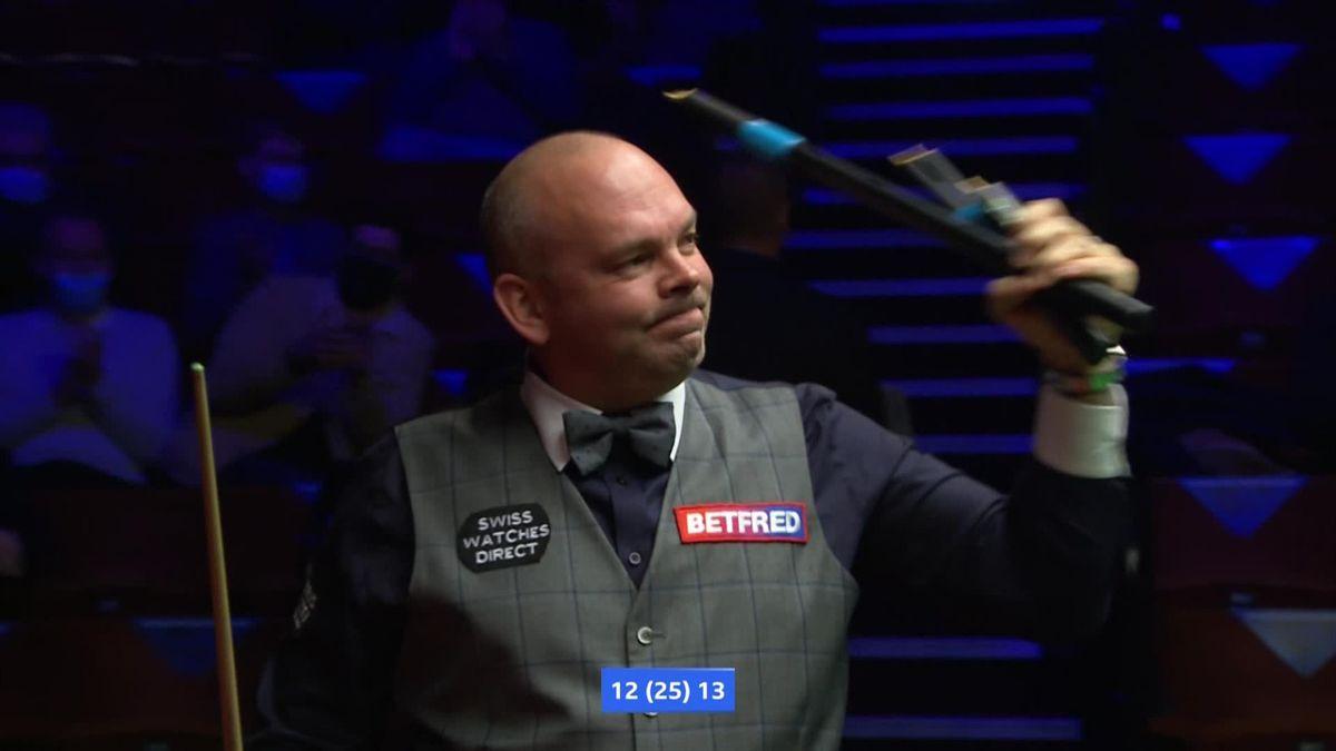 Snooker - Bingham winning