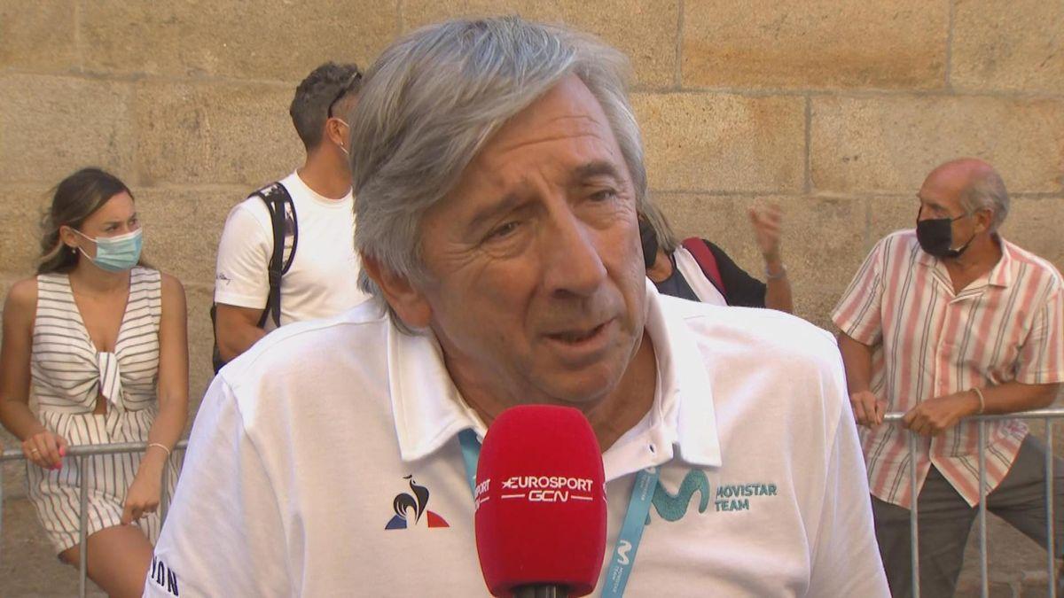 """Así explicó Unzue en Eurosport el abandono de López: """"Se fue todo al carajo"""""""