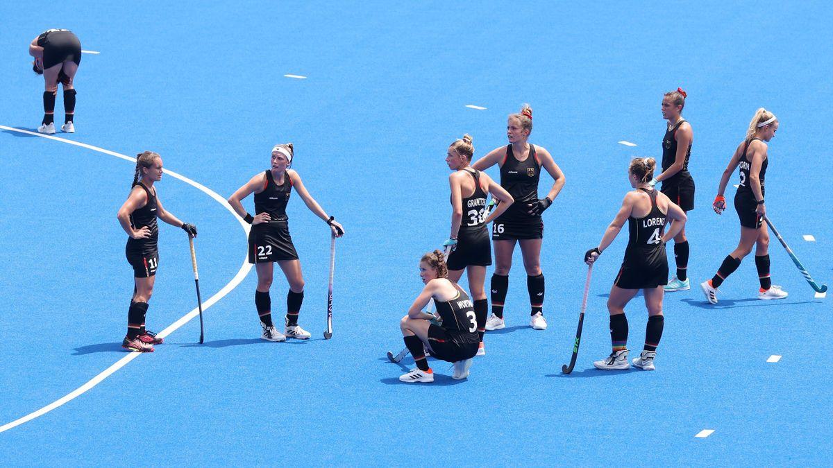 Die deutschen Hockey-Frauen scheitern im Viertelfinale