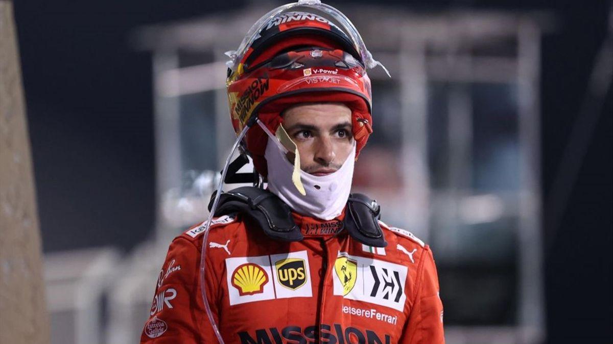 Carlos Sainz (Ferrari) al GP Bahrain 2021 - Mondiale Formula 1 2021 - Getty Images