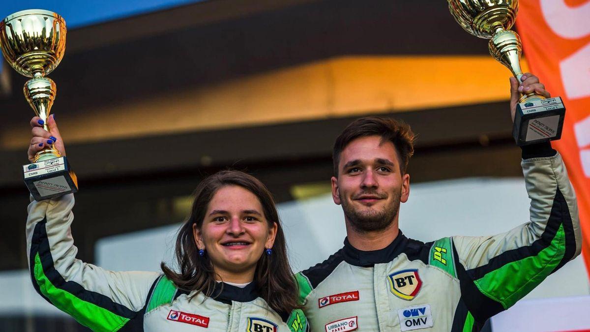 Norbert Maior și Francesca Maior, la ERC3 Junior