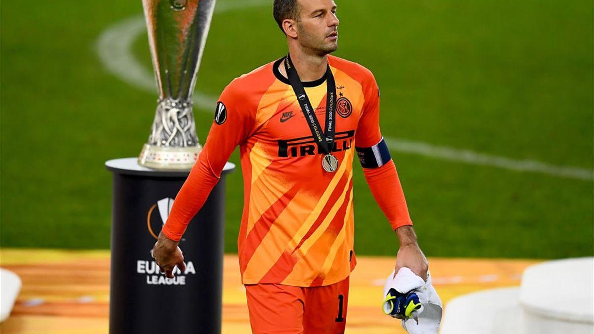 Samir Handanovic, portarul lui Inter