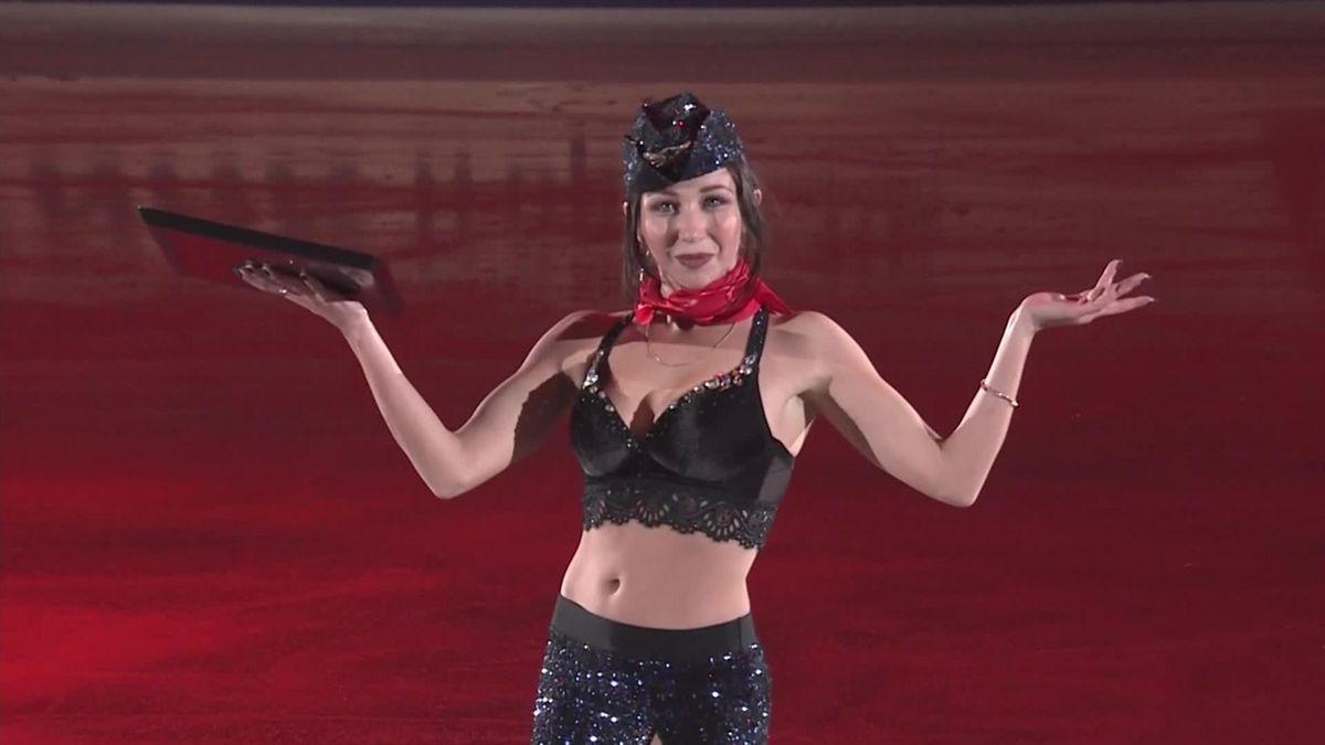 """Figure skating Grand Prix NHK Trophy - Gala - Elizaveta Tuktamisheva """"Toxic"""" Dance"""