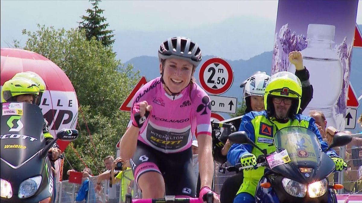 Giro Rosa : Stage 9 finish