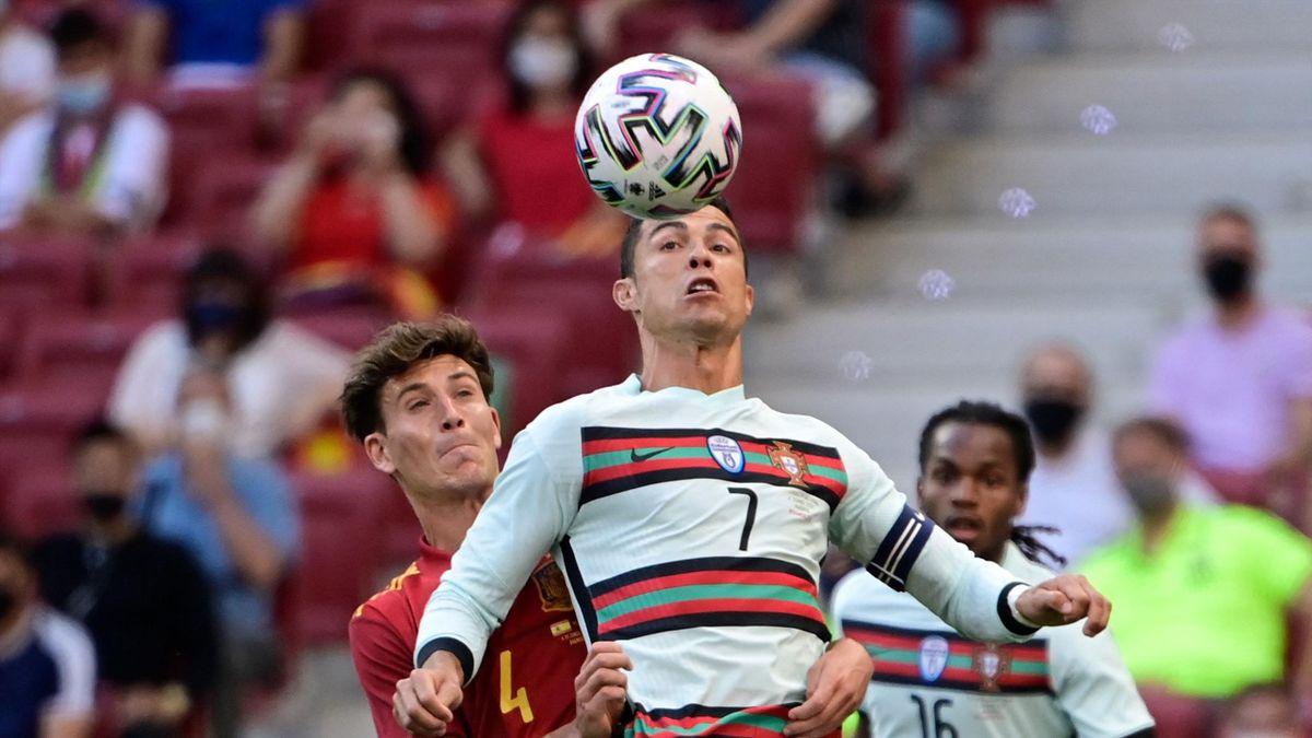 Cristiano Ronaldo, Spain - Portugal
