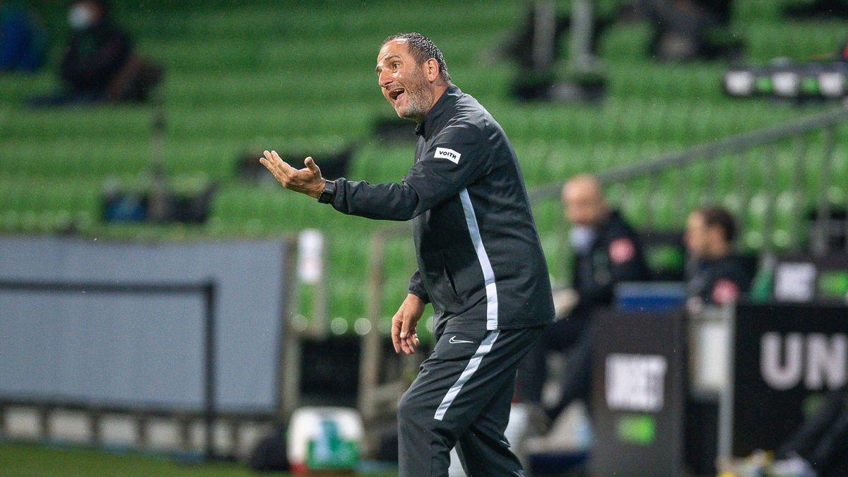 Frank Schmidt, Trainer des 1. FC Heidenheim