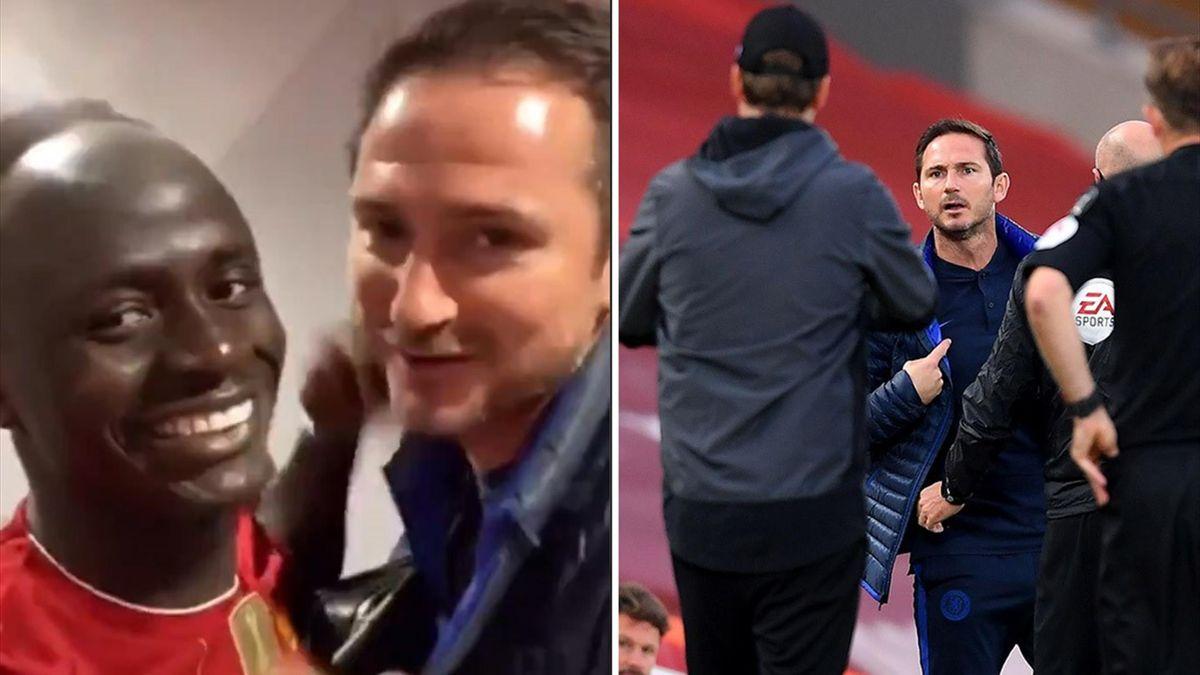 Lampard l-a felicitat pe Mane pentru câştigarea Premier League