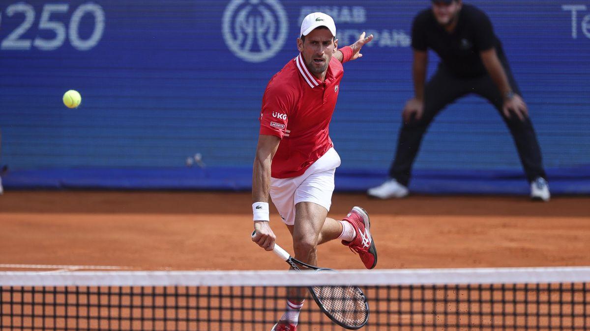 Novak Djokovic steht beim ATP-Turnier in Belgrad im Finale