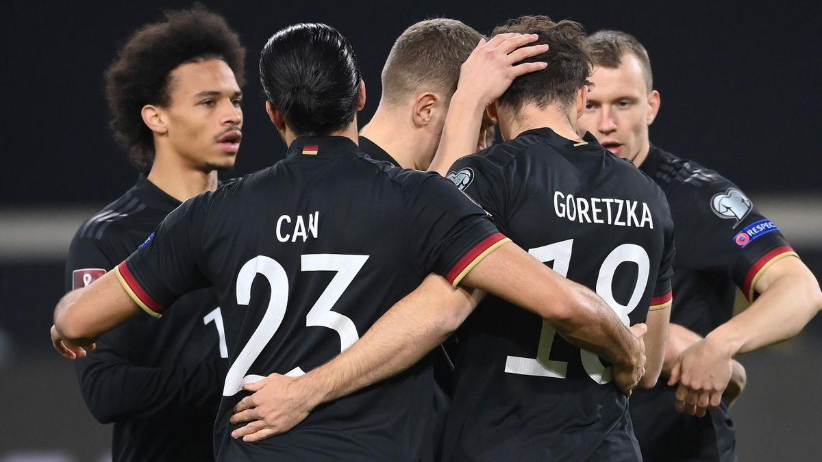 Die DFB-Elf freut sich