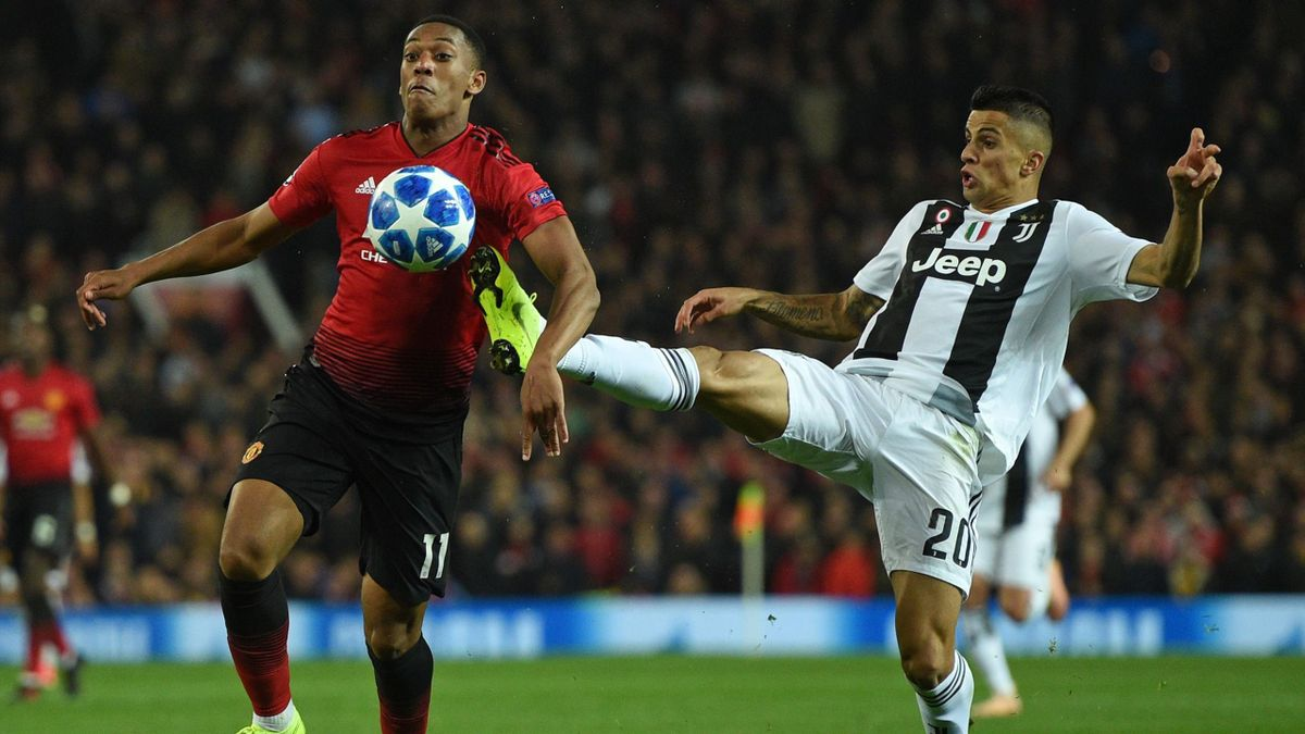 Anthony Martial, Joao Cancelo, Juventus-Manchester United, Getty Images