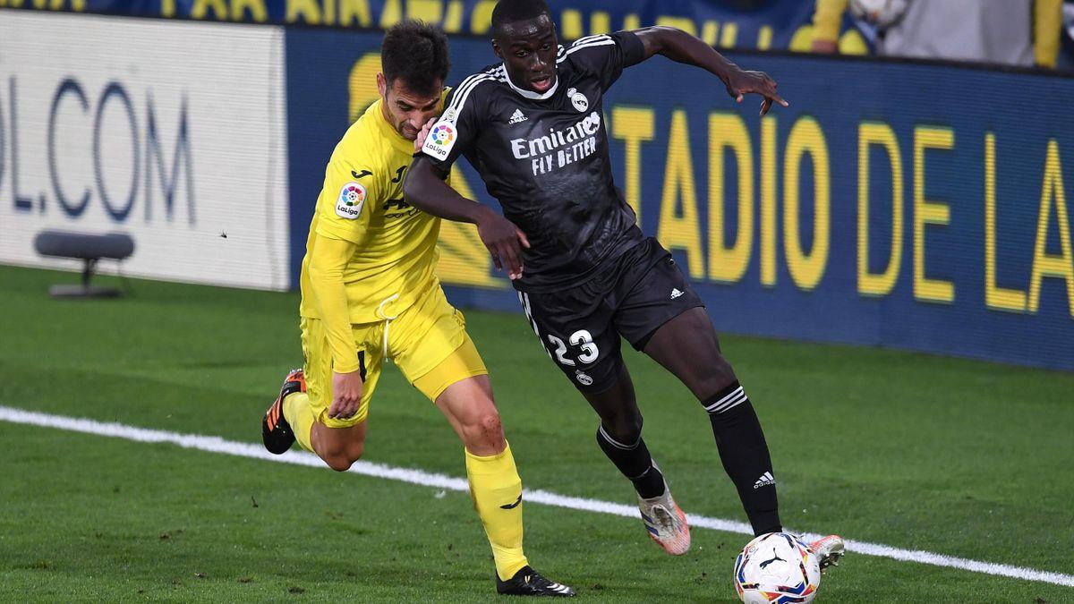 Trigueros in marcatura su Mendy, Villarreal-Real Madrid