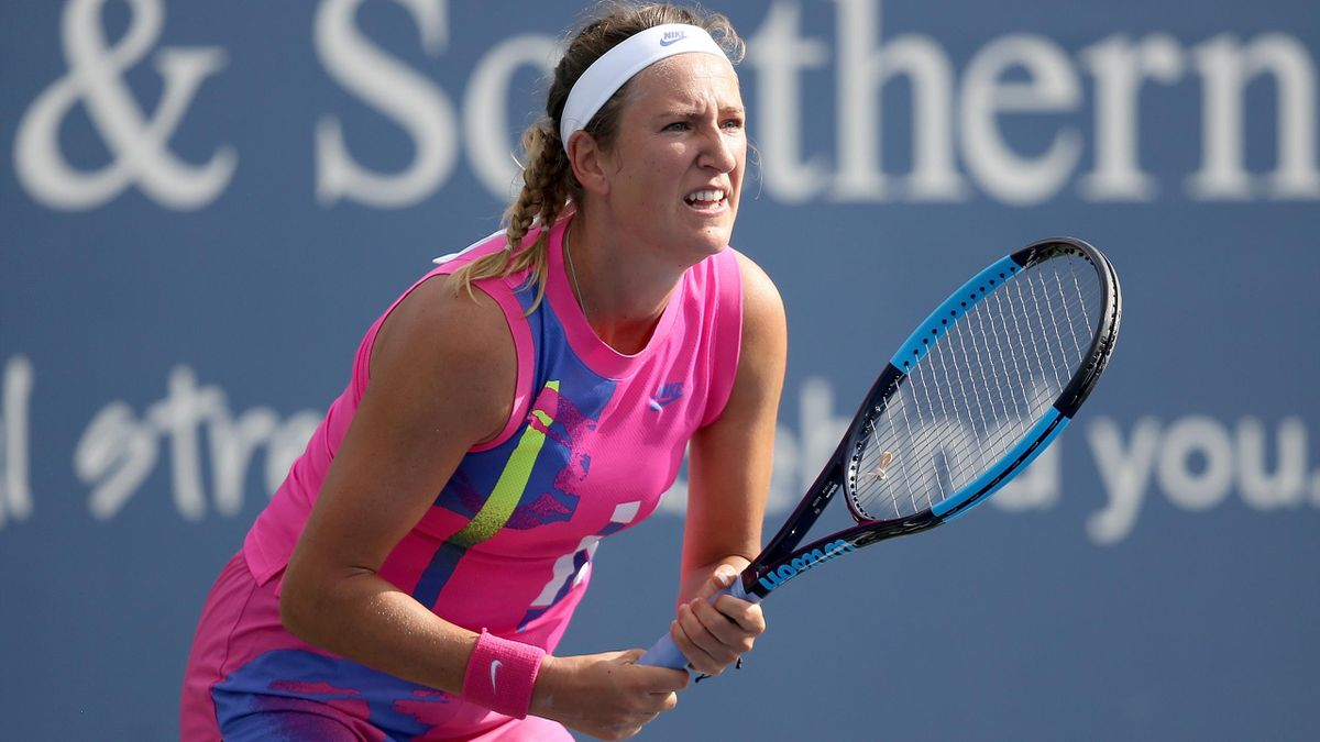 Виктория Азаренко на турнире в Цинциннати (2020)