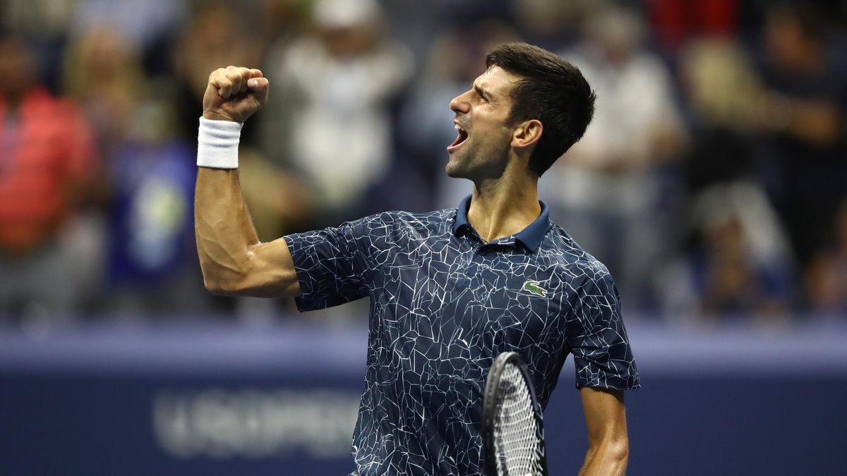 Novak Djokovic US Open 2018