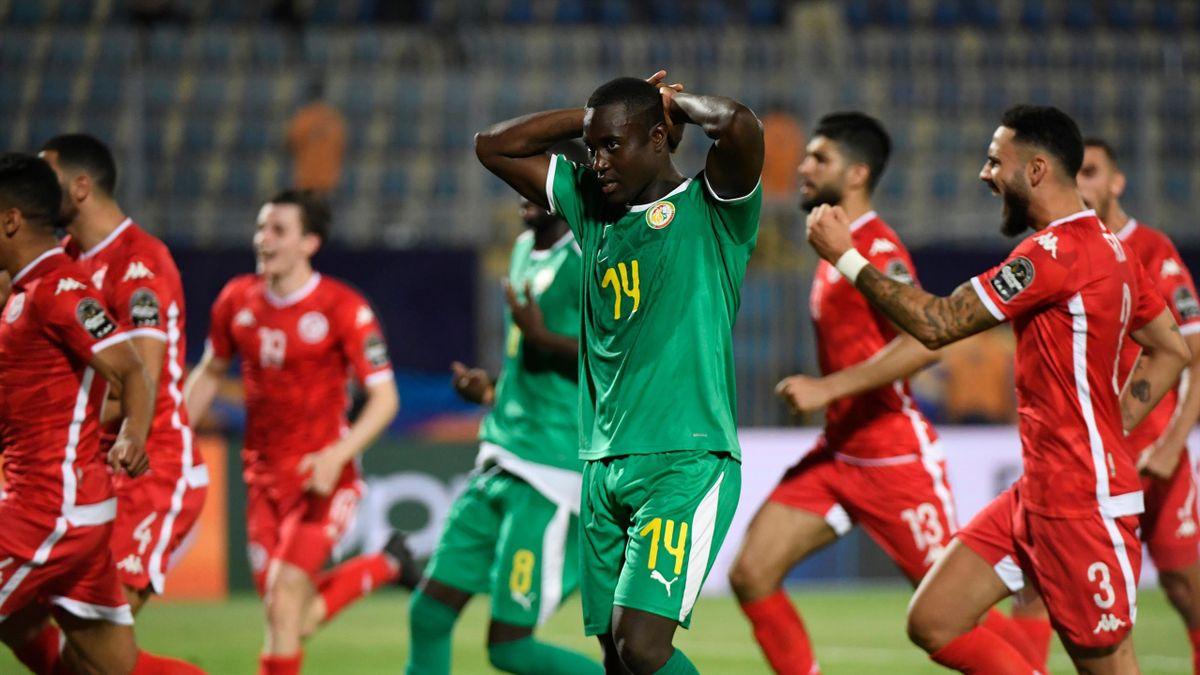 Saivet a raté un penalty contre la Tunisie dimanche, en demi-finale de la CAN.