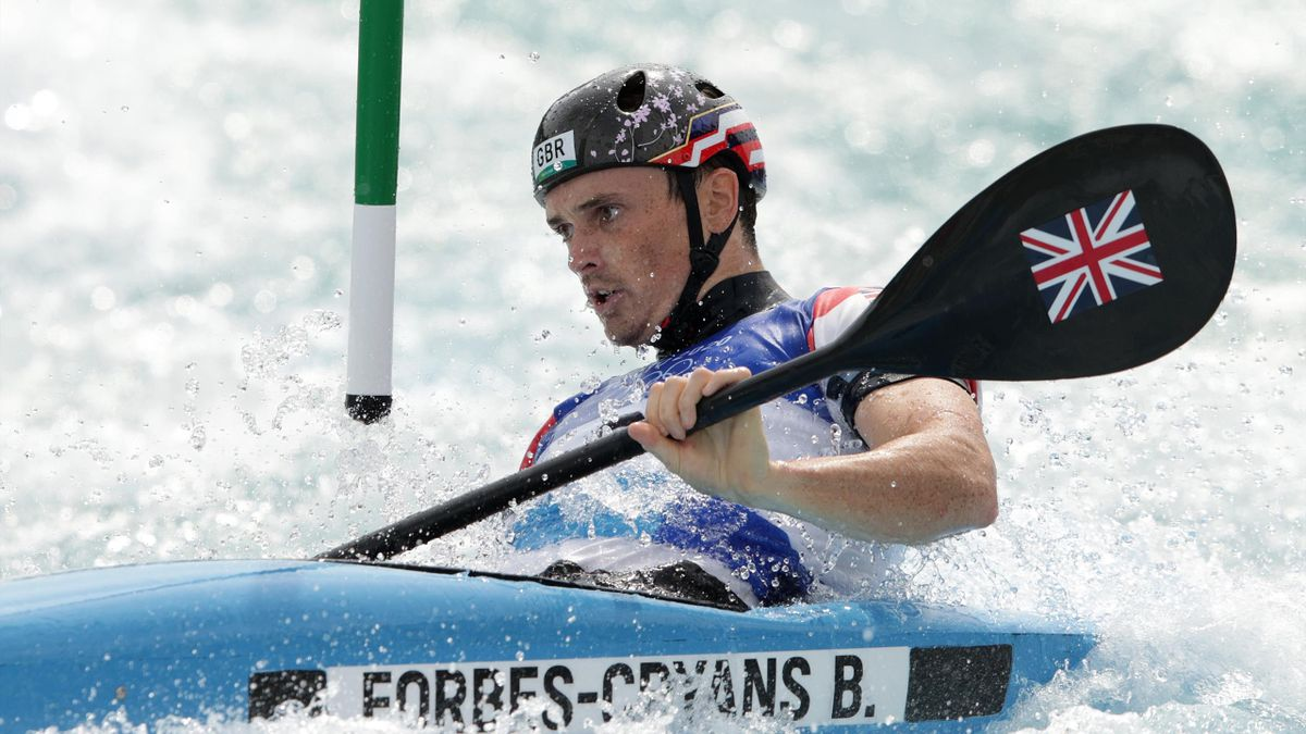 Bradley Forbes-Cryans finished sixth in the K1 final