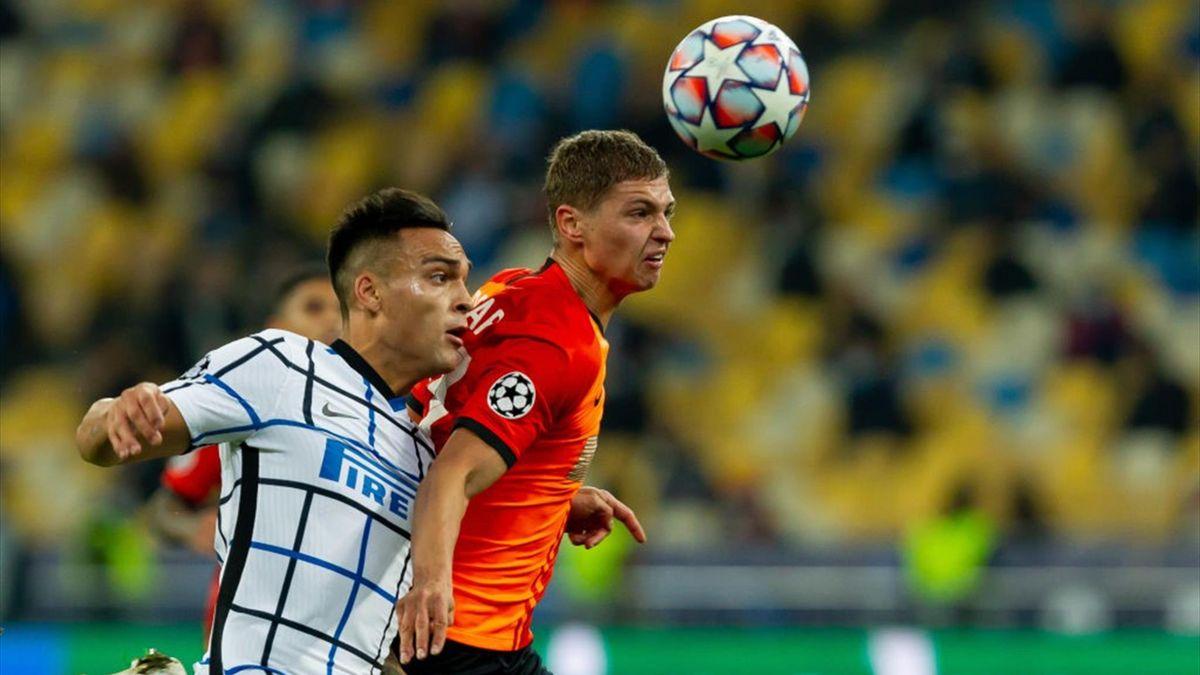 Lautaro Martinez - Shakhtar Donetsk-Inter Champions League 2020-21
