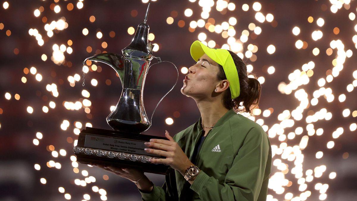 Garbine Muguruza, WTA 1000 Dubai 2021