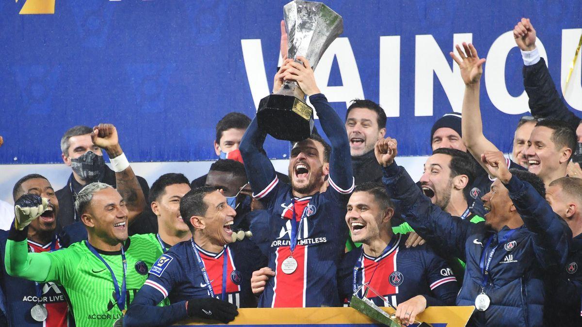 Le trophée des champions 2020 a été remporté par le PSG.
